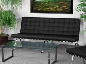Flash Furniture ZBFLASH801SOFABKGG