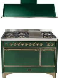 2-Piece Emerald Green Kitchen Package with UMC120FDMPVSY 48