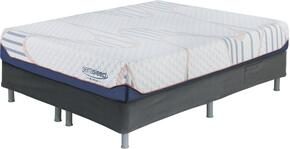 10 Inch MyGel Collection M75731-M86X32 Set of Mattress and Riser Foundation in Queen Size