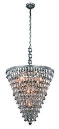 Elegant Lighting 1219D24ASRC