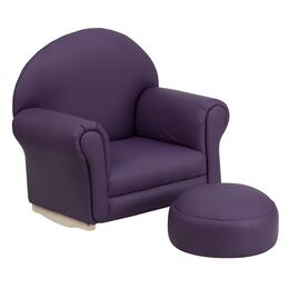 Flash Furniture SF03OTTOPURPLEGG