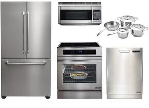 Distinctive Series 5-Piece Stainless Steel Kitchen Package With RNR30NIFS 30