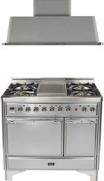 2-Piece Stainless Steel Kitchen Package with UMCD100FDMPIX 40