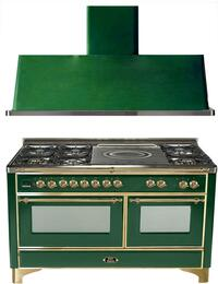 2-Piece Emerald Green Kitchen Package with UM150SDMPVS 60