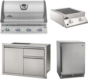 5-Piece Stainless Steel Outdoor Package with BILEX485PSS1 29