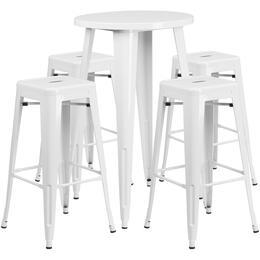 Flash Furniture CH51080BH430SQSTWHGG