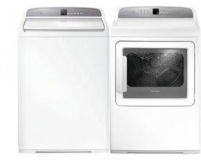 White Top Load Laundry Pair with WA3927G1 27