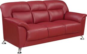 Global Furniture U9102REDSOFA