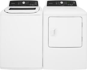 White Top Load Laundry Pair with FFTW4120SW 27