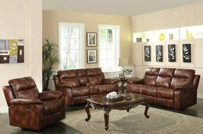 Dyson 50815SLRT 5 PC Living Room Set with Sofa + Loveseat + Recliner + Coffee Table + End Table in Light Brown Color