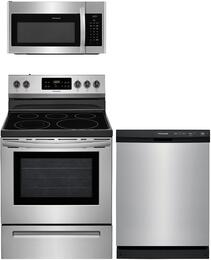 3-Piece Stainless Steel Kitchen Package with FFEF3054TS 30