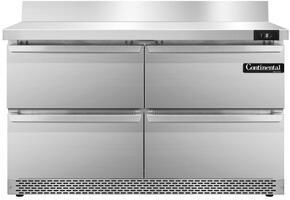 Continental Refrigerator SWF48BSFBD