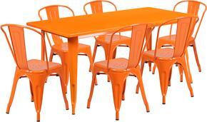 Flash Furniture ETCT005630ORGG