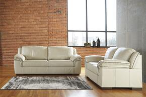 Islebrook Collection 1520438SL 2 PC Living Room Set with Sofa + Loveseat in Vanilla Color