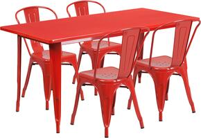 Flash Furniture ETCT005430REDGG