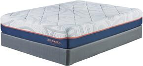 12 Inch MyGel Collection M75851-M81X52 Set of Mattress and 2-Piece Foundation in California King Size