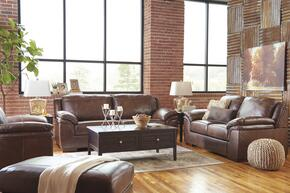 Islebrook Collection 1520338SLCO 4 PC Living Room Set with Sofa + Loveseat + Armchair + Ottoman in Canyon Color