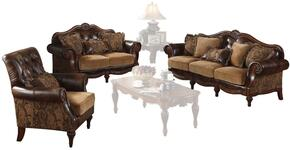 05495SLC Dreena Sofa + Loveseat + Chair