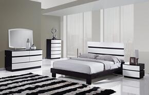 CATALINA-QB-5GRP 5 Piece Set, Queen Bed + Dresser + Mirror + 2 Night Stands