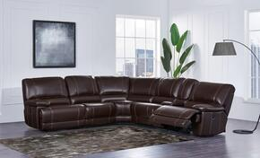 Global Furniture USA U1953SECLSFRRSFRP