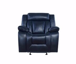 Global Furniture USA U8036AL2476BLUEGR