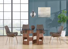 Global Furniture USA D866DT4D4878DCBR