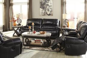 Paron U75901NSLR 3-Piece Living Room Set with 2-Seat Reclining Sofa, Double Reclining Loveseat and Zero Wall Recliner in Antique