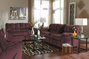 Julson 26602SLR 3-Piece Living Room Set with Sofa, Loveseat and Recliner in Burgundy