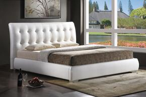 Wholesale Interiors BBT6284WHITEBEDKING