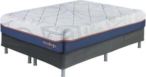12 Inch MyGel Collection M75831-M86X32 Set of Mattress and Riser Foundation in Queen Size