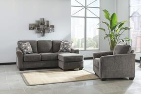 Brise Collection 84102SCC 2-Piece Living Room Set with Sofa-Chasie and Chair in Slate