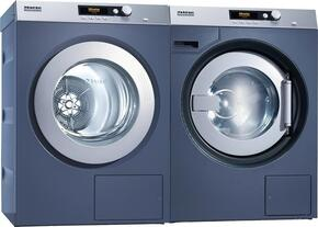 Front load Laundry Pair with PW6080DP with Pump Drain and PT7186240V Electric Dryer