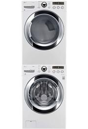 White Front Load Laundry Pair with WM3250HWA 27