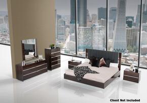 VIG Furniture VGACCLUXOREBONYQ