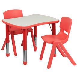 Flash Furniture YUYCY0980032RECTTBLREDGG