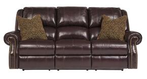 Walworth U78002SLR 3-Piece Living Room Set with Reclining Sofa, Reclining Loveseat and Rocker Recliner in Blackcherry