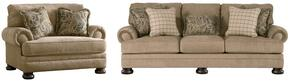 Keereel Collection 38200SC 2-Piece Living Room Set with Sofa and Chair and a Half in Sand