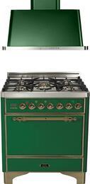 2-Piece Emerald Green Kitchen Package with UMC76DMPVSY 30