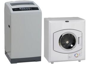 White Compact Laundry Pair with TLW16D0W 21