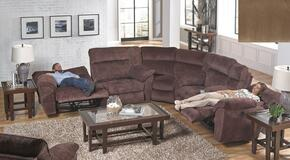 Nichols Collection 1671-8-9-1889-11 3-Piece Sectional with Reclining Sofa, Corner Wedge and Reclining Loveseat in Fawn