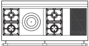 150 US K3 Cooktop Configuration w...