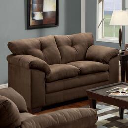Simmons Upholstery 656502LUNACHOCOLATE
