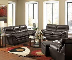 Soho 9515-030201 3 Piece Set including Sofa, Loveseat and Chair with  Bonded Leather in Espresso