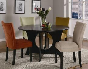 101661SET5 Castana 5 Pc Dining Room Set in Cappuccino Finish