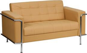 Flash Furniture ZBLESLEY8090LSBRNGG