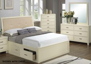 G1290BFSBDM 3 Piece Set including Full Size Bed, Dresser and Mirror  in Beige