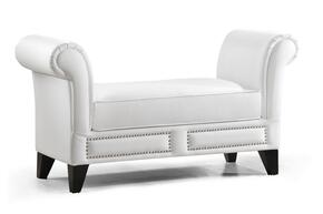 Wholesale Interiors BBT5120WHITEBENCH