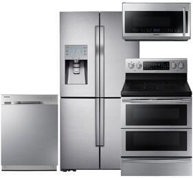 Samsung Appliance SAM4PCFSFD30EFCSSKIT4