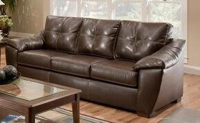 181250-MAH Essex 2 Piece Sofa + Loveseat Set in Thomas Mahogany