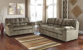 Julson 26601SL 2-Piece Living Room Set with Sofa and Loveseat in Dune